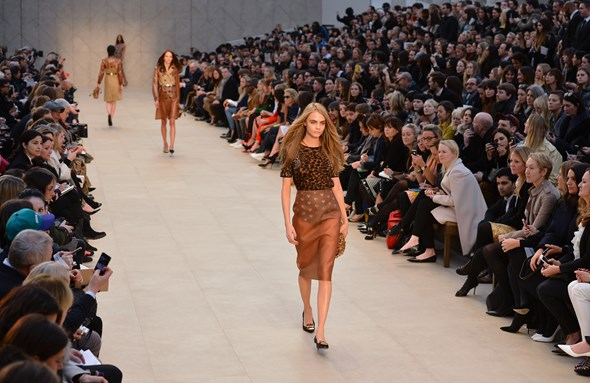 Burberry Prorsum's AW13 London Fashion Week show