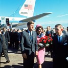 President John F Kennedy and Jackie Kennedy
