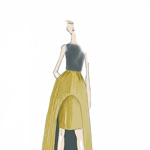 Exclusive sketches of Sass & Bide's AW14-15 collection