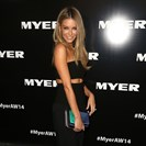Jennifer Hawkins Myer AW14 red carpet