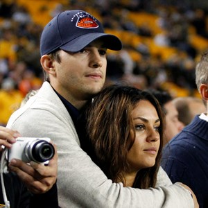 'I love you @kutcher78', read the caption of Kunis' Instagram photo