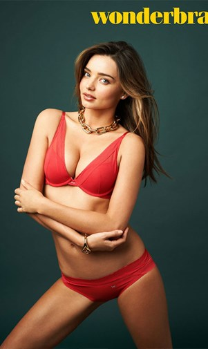 Miranda Kerr for Wonderbra