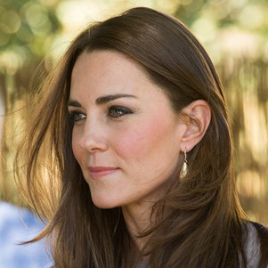 The Duchess of Cambridge's perfect brunette mane and celebrity's hair