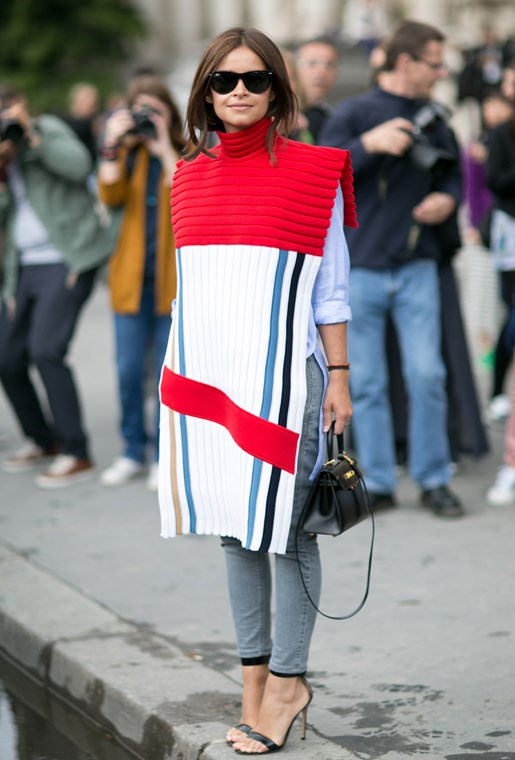 Miroslava Duma at the Haute Couture AW14-15 Shows