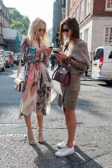 Street Style From London Fashion Week Ss15 Elle