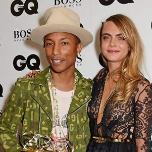 Karl Lagerfeld directs Pharrell Williams and Cara Delevingne