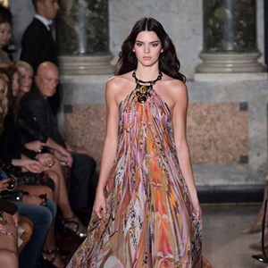Kendall Jenner at Emilio Pucci