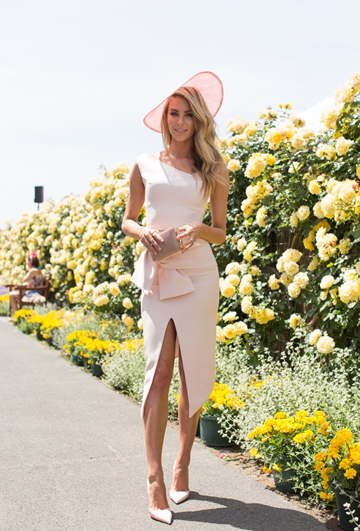 Jen Hawkins at Oaks Day