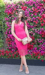 Beth Hickman at Emirates Stakes Day 2014