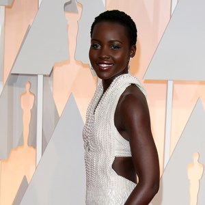 The Calvin Klein gown Lupita Nyong'o wore to the Oscars was made of 6,000 white Akoya pearls
